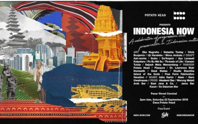 DOMESTIK for Indonesia Now, a project By POTATO HEAD Bali and BOBOBOBO